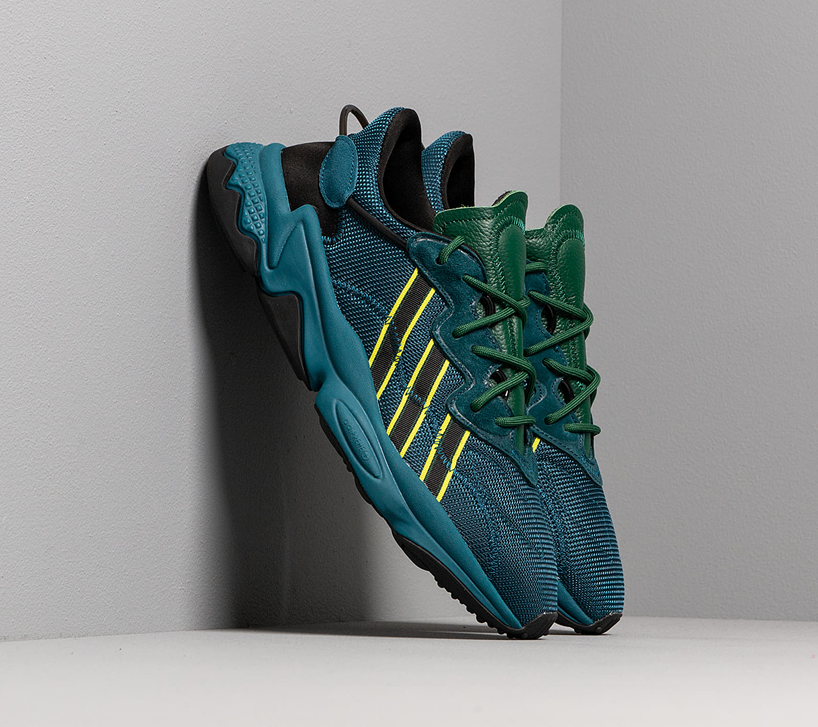 adidas x Pusha T Ozweego Tech Mineral/ Tech Mineral/ Tech Mineral, Blue