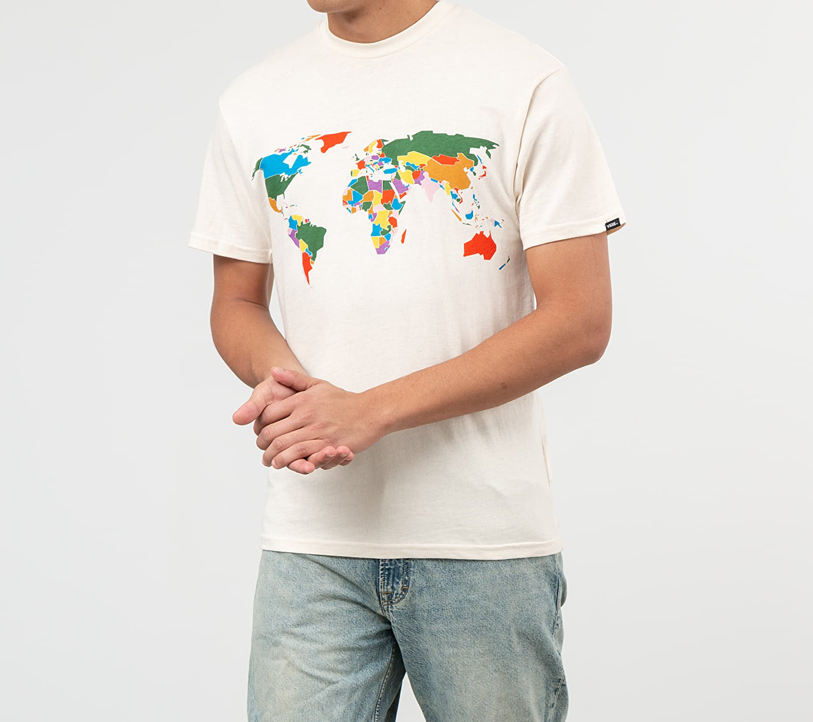 Vans x Save Our Planet Tee Natural, White