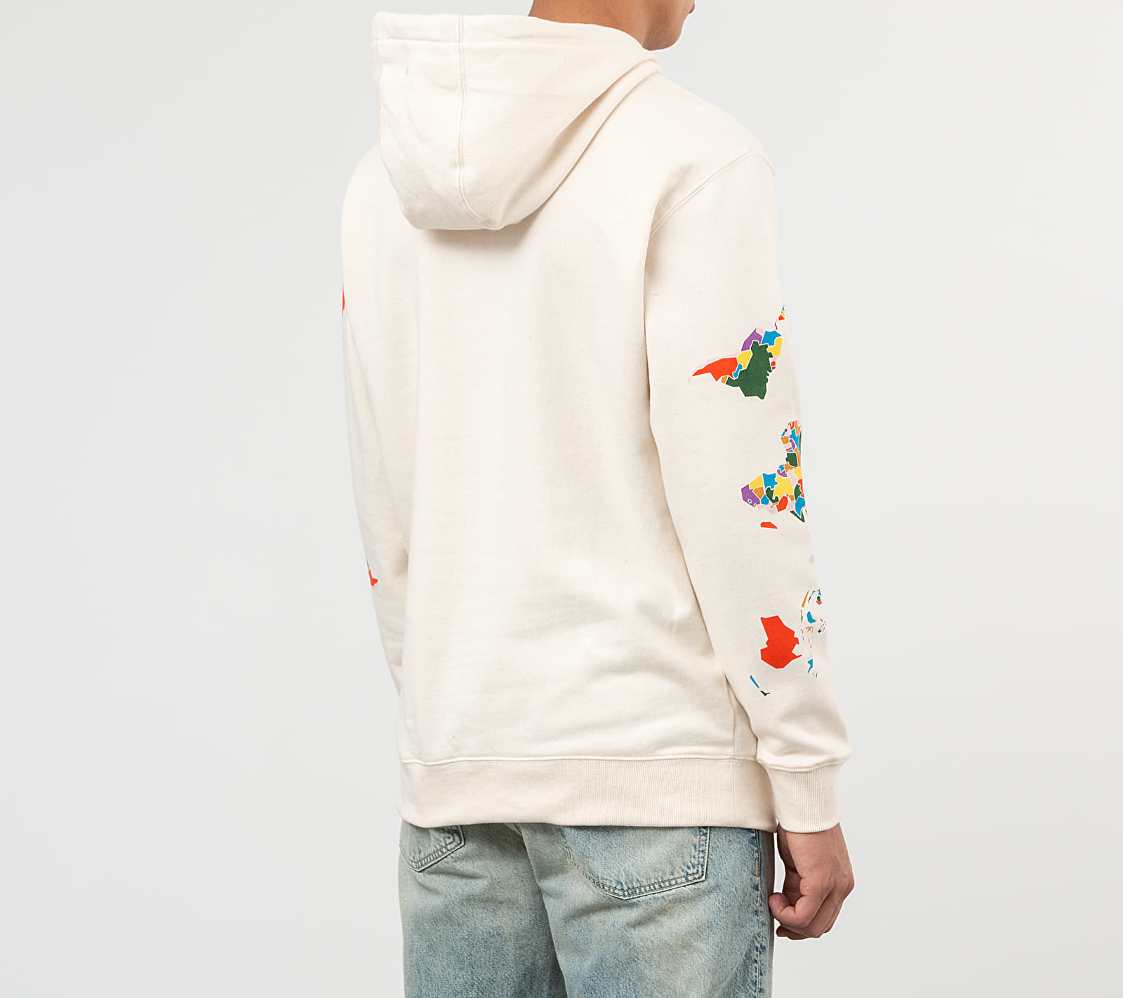 Vans x Save Our Planet Hoodie Natural, White