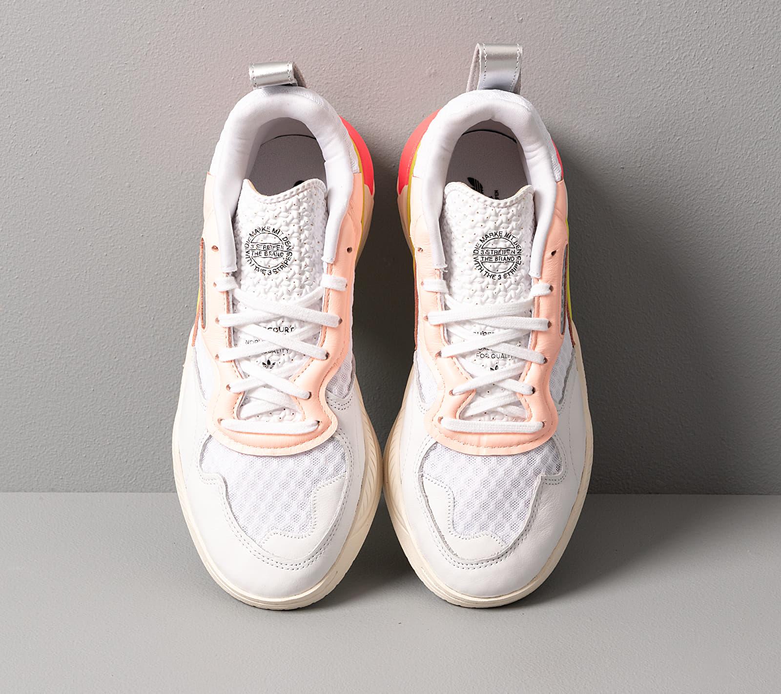 adidas Supercourt RX W Ftwr White Ftwr White Flash Red