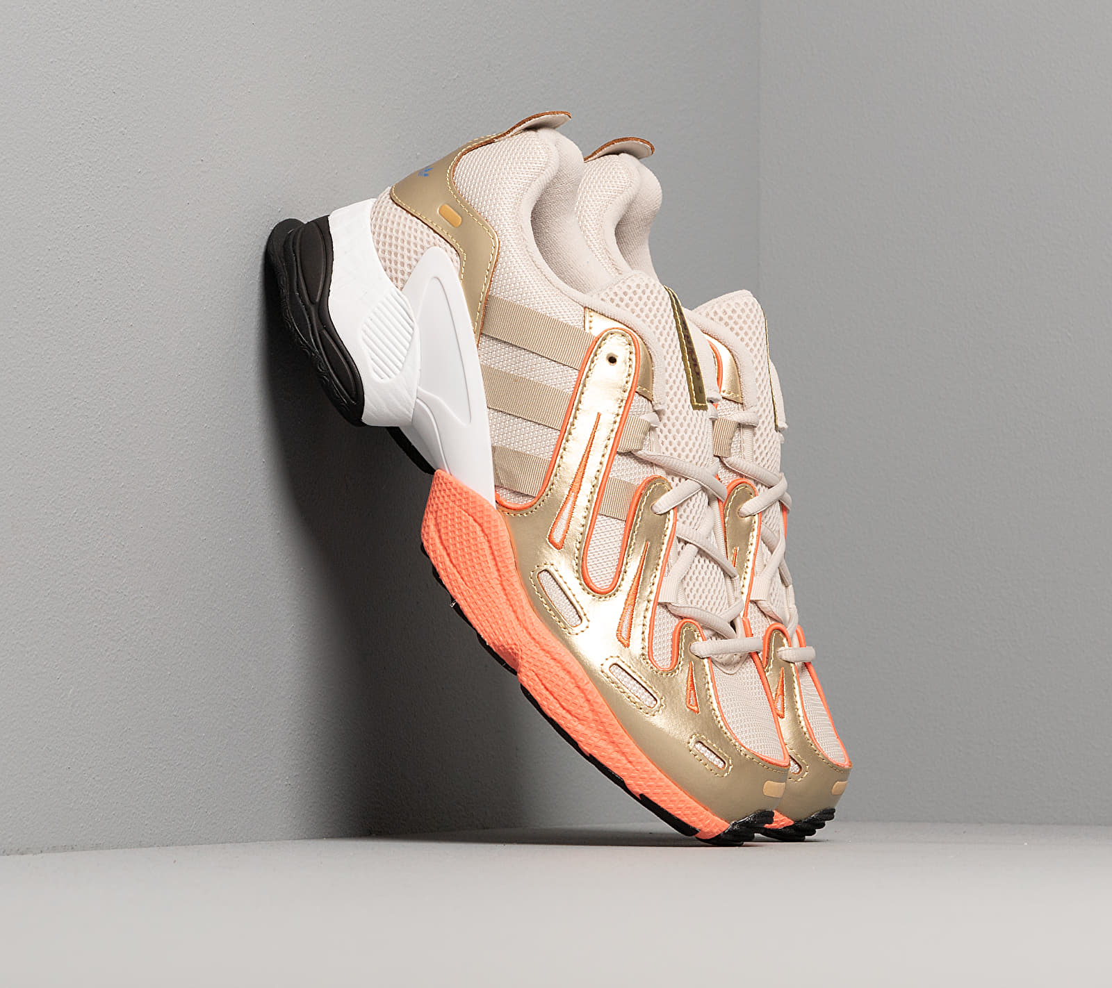 adidas EQT Gazelle Core Brown/ Raw Gold/ Semi Core Orange EUR 47 1/3