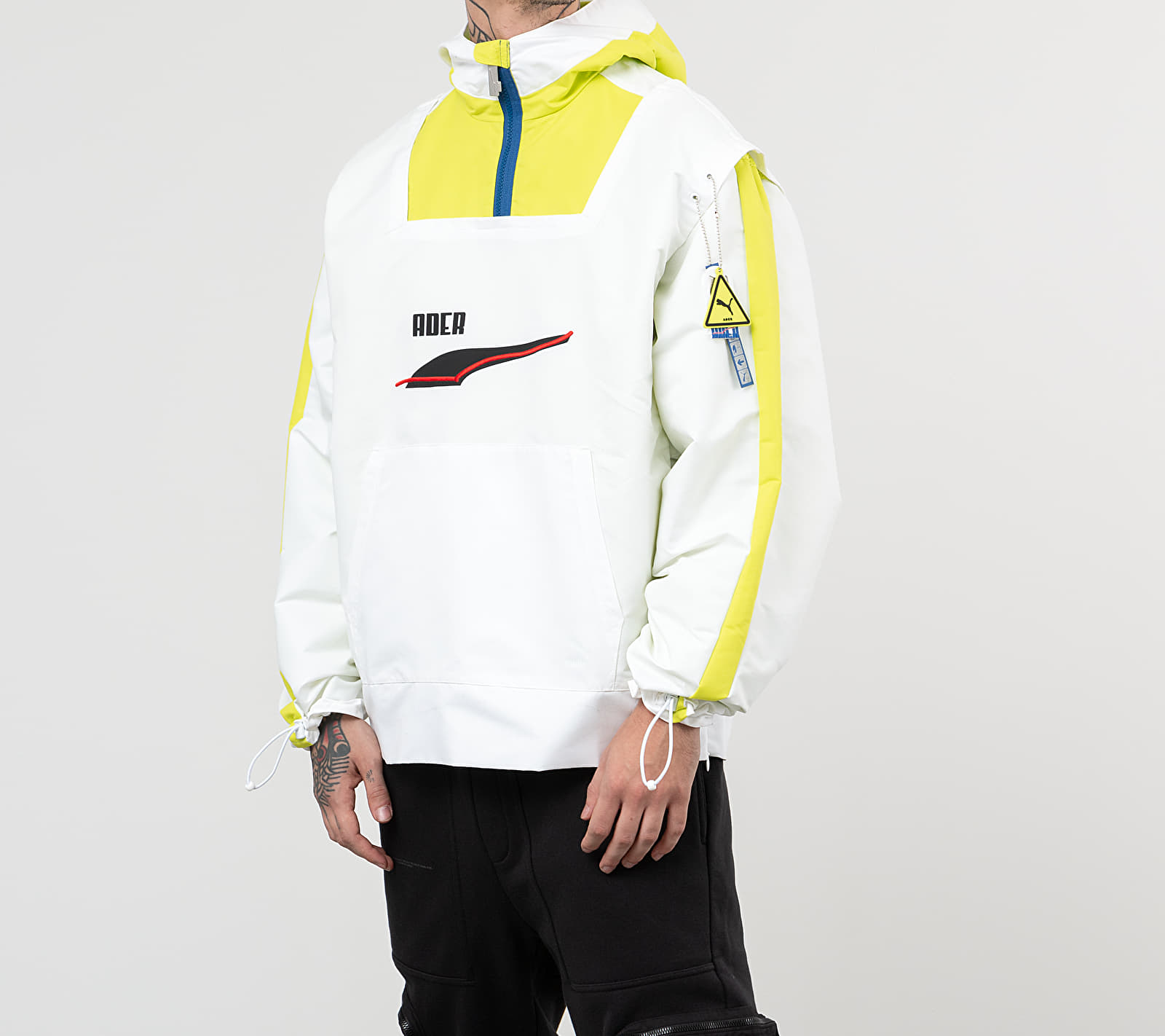 Puma x Ader Windbreaker Jacket Puma White