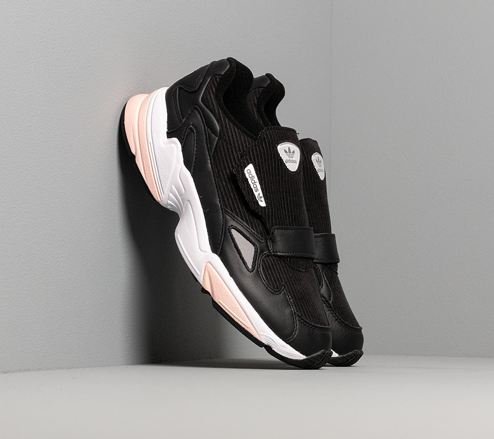 adidas Falcon RX W Core Black/ Glow Pink/ Grey Three EUR 37 1/3