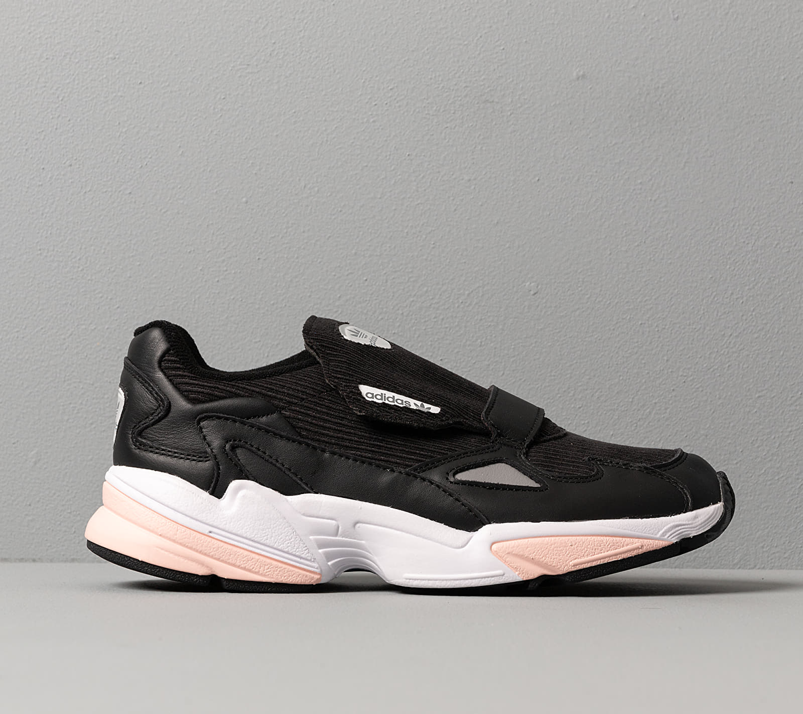 adidas Falcon RX W Core Black/ Glow Pink/ Grey Three