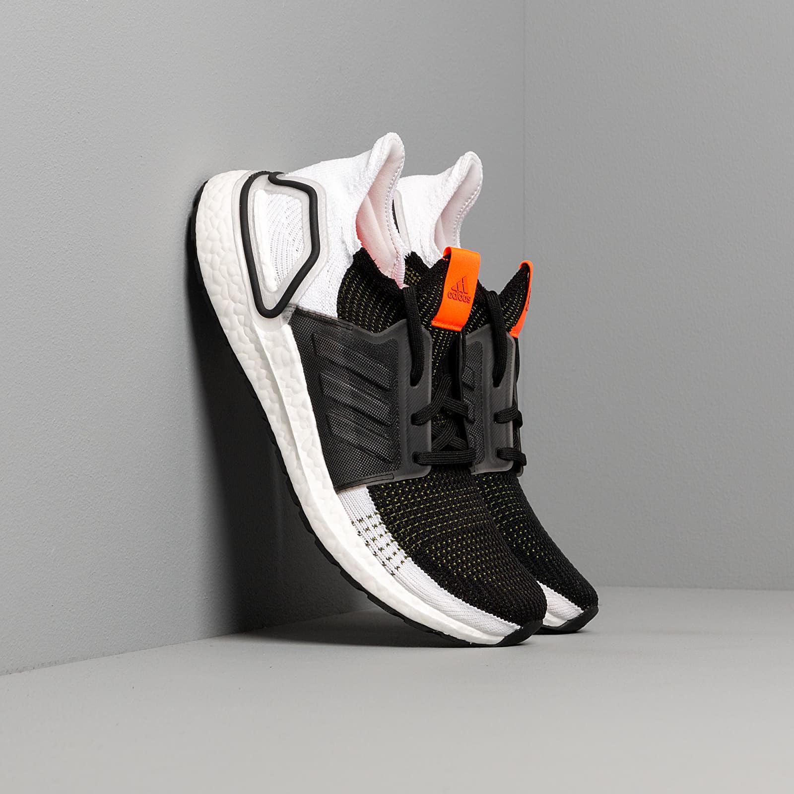 Men's shoes adidas UltraBOOST 19 M Tech Olive/ Core Black/ Solar Red