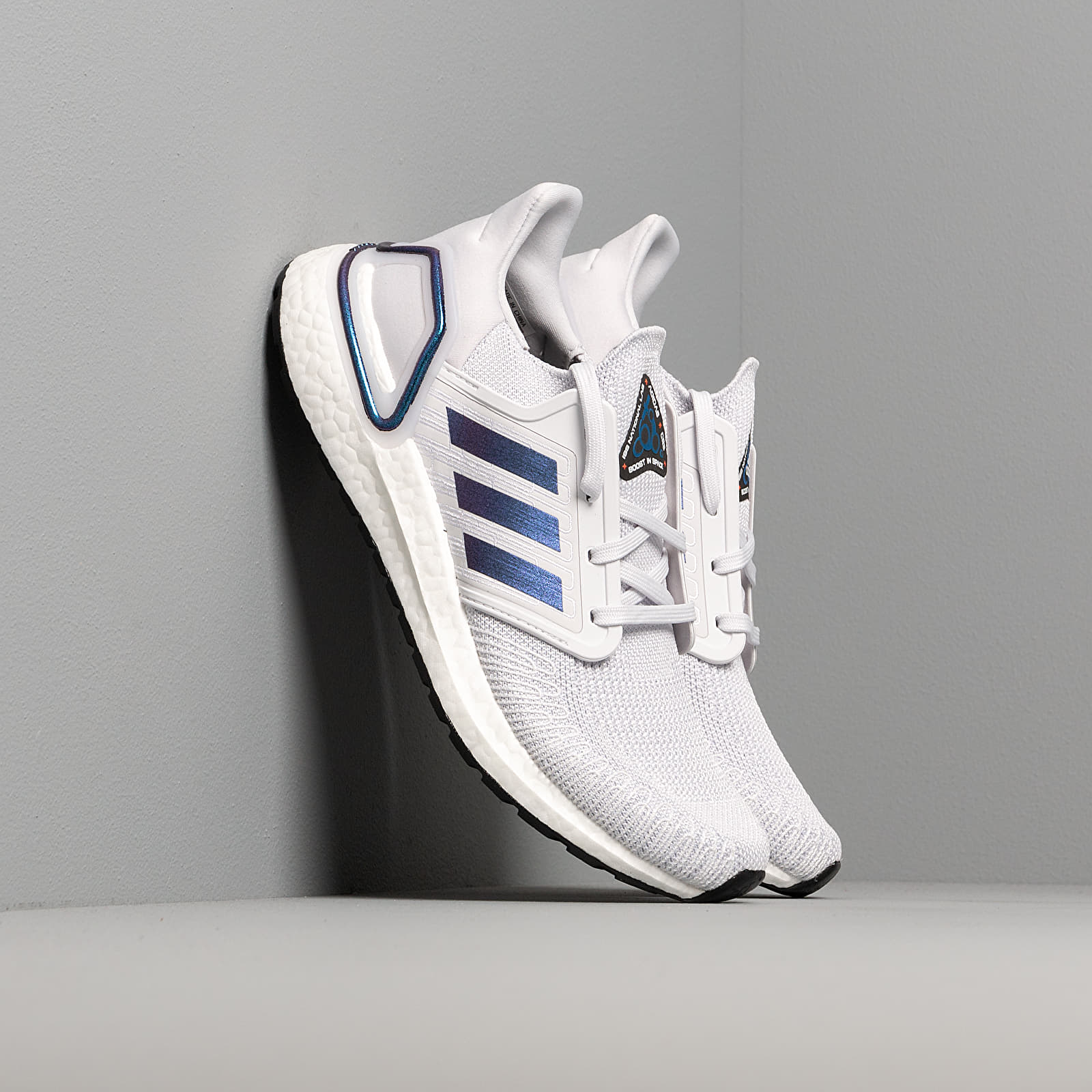 Дамски кецове и обувки adidas UltraBOOST 20 W Dash Grey/ Blue Vime/ Core Black