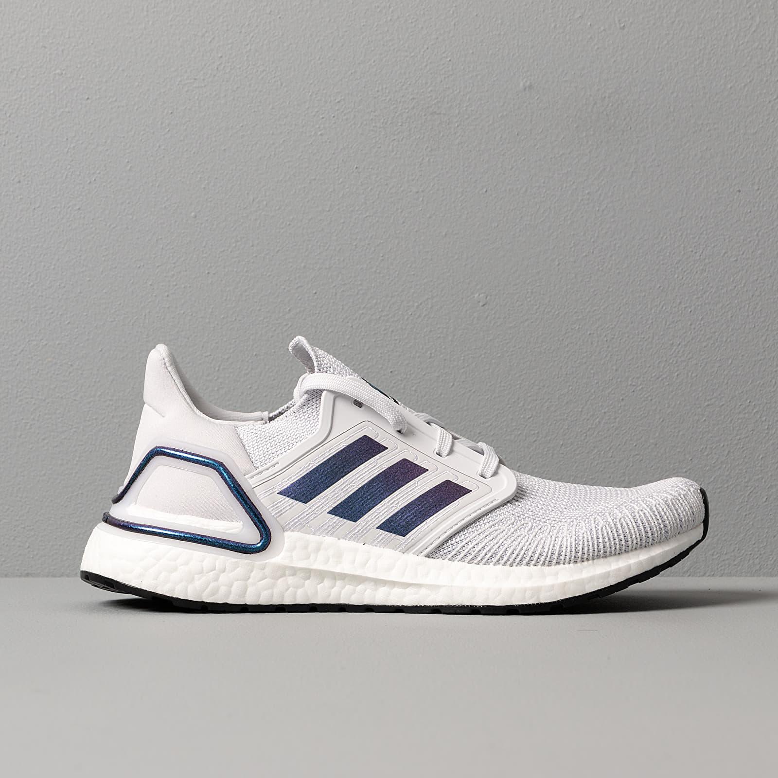 adidas UltraBOOST 20 W Dash Grey Blue Vime Core Black | Footshop