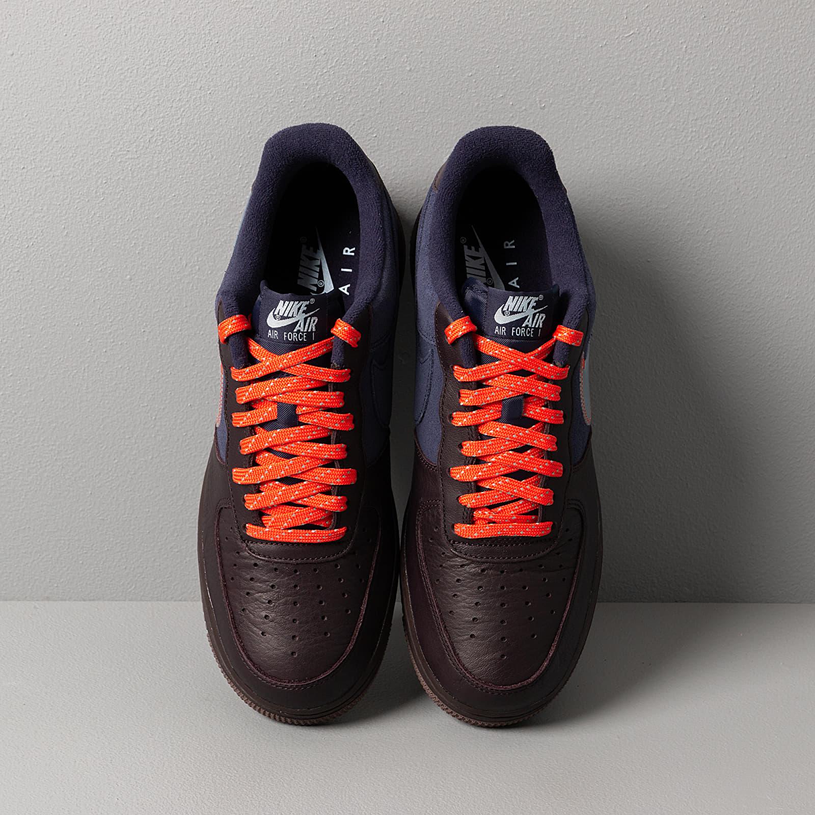 Nike Air Force 1 Premium Burgundy Ash Celestine Blue | Footshop