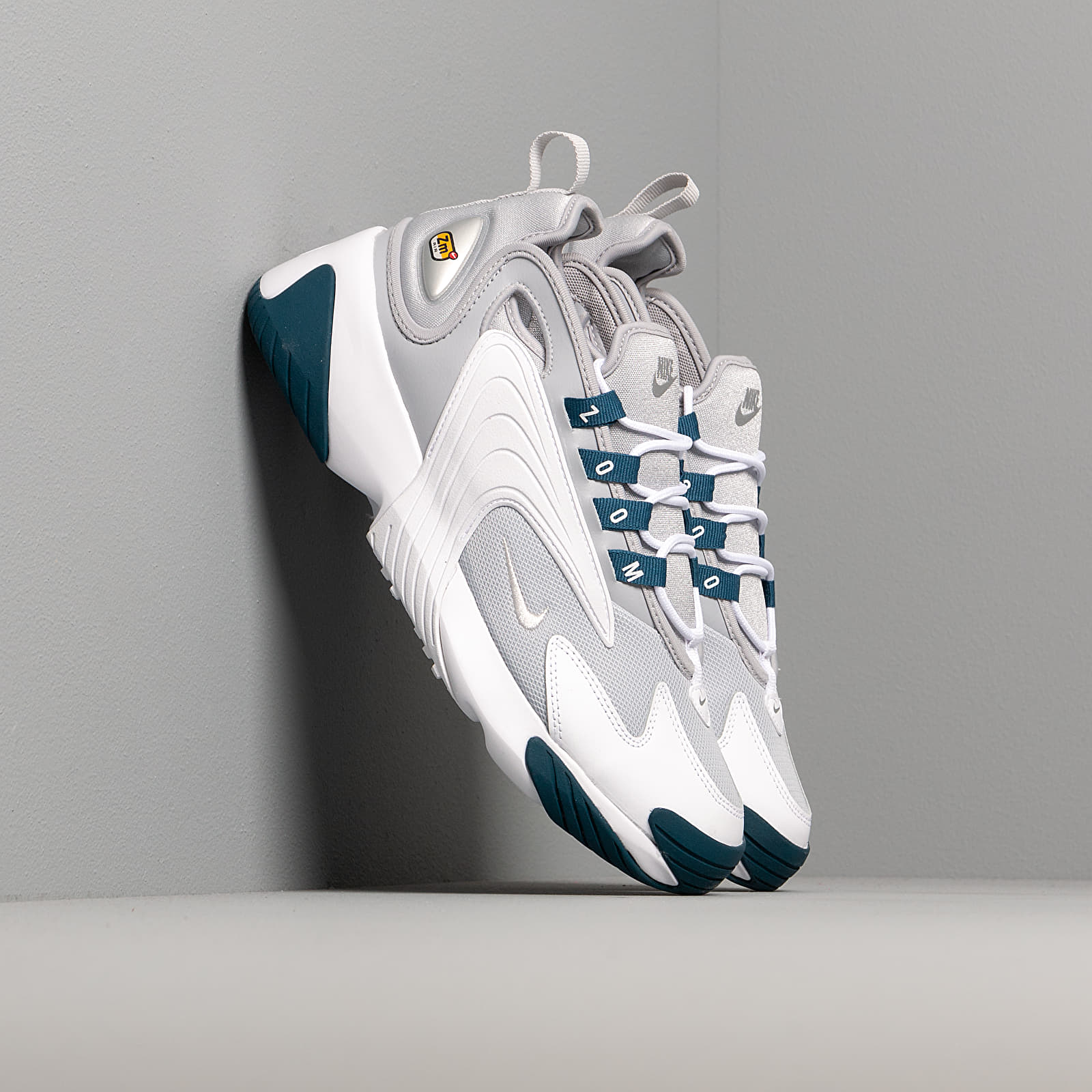 Dámské tenisky a boty Nike Wmns Zoom 2K Wolf Grey/ Mtlc Platinum-Blue Force-White