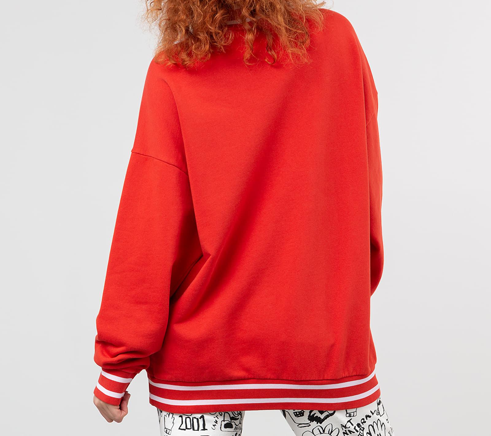 Lazy Oaf x Peanuts Lazy Holiday Sweatshirt Red