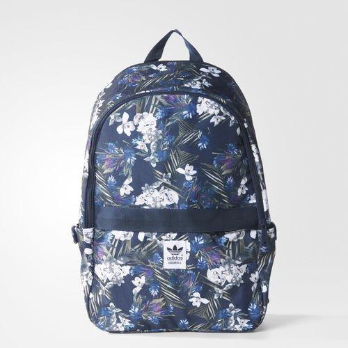 adidas Dark Floral Backpack Multicolor Night Indigo White  7a4eb34bd3d33
