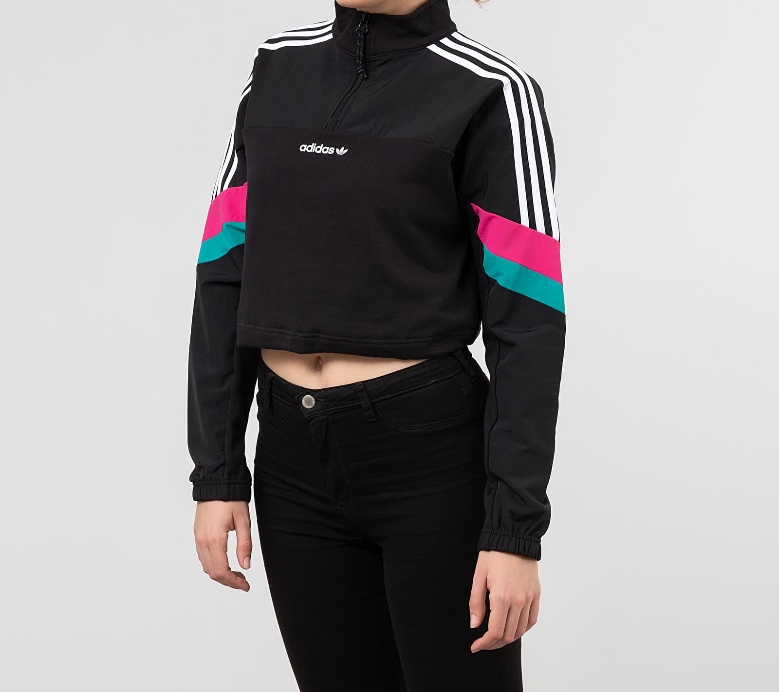 adidas Cropped Top Black