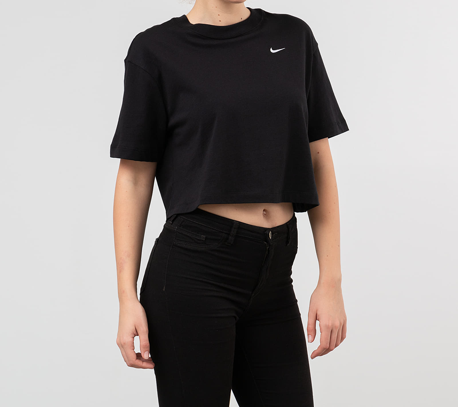 Nike Sportswear Essential Top Black/ White