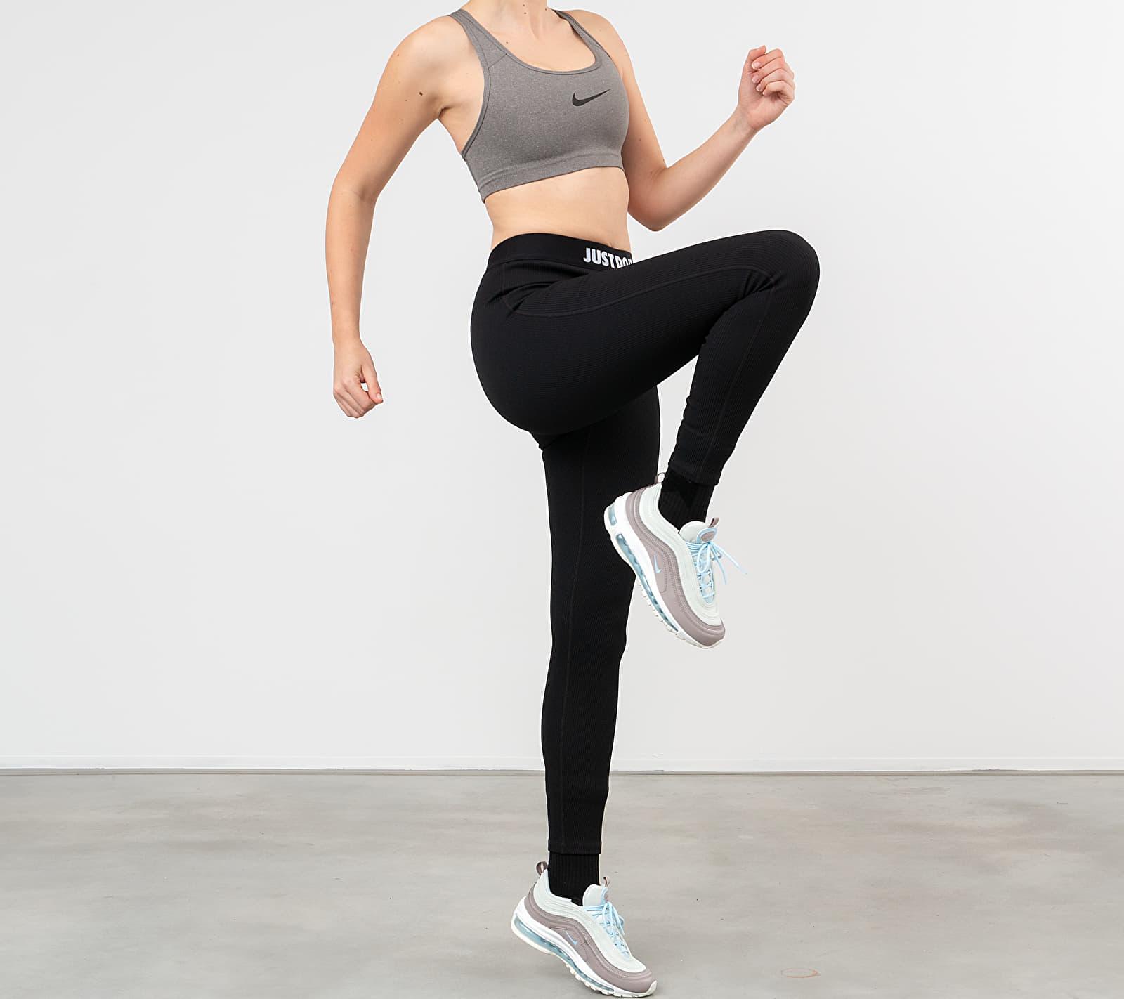 Nike Swoosh Bra Carbon Heather/ Anthracite/ Black, Gray