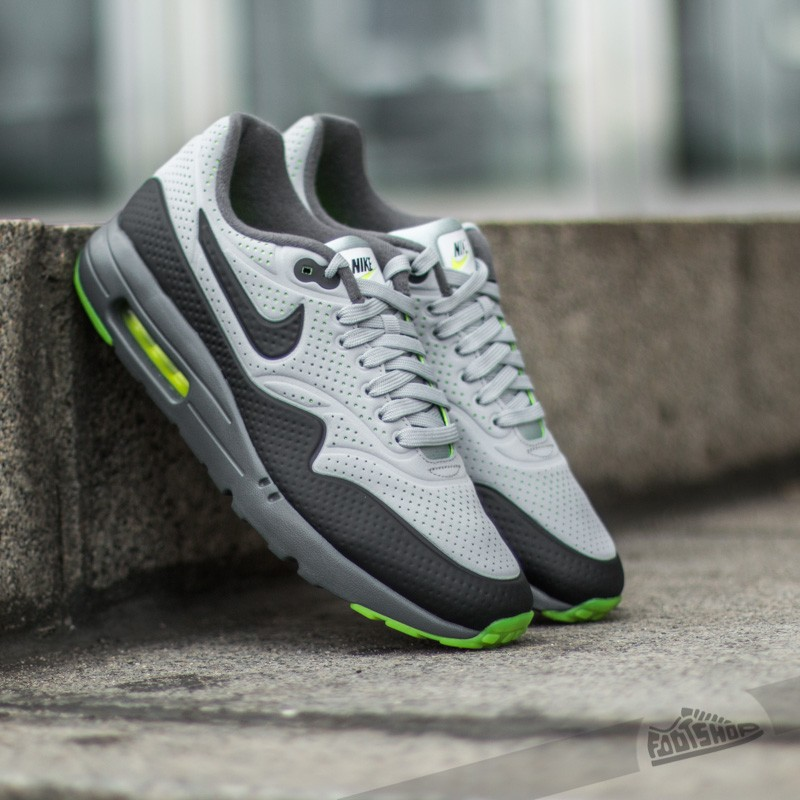 nouveau style 26c75 03343 Nike Air Max 1 Ultra Moire Wolf Grey/ Black-Dark Grey-White ...