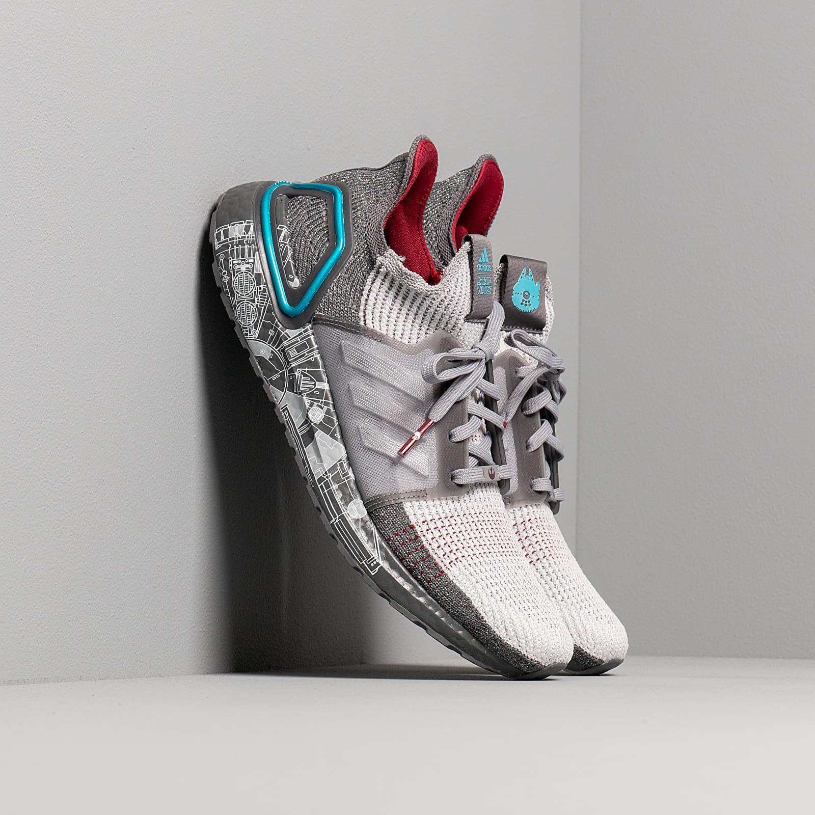 Men's shoes adidas x Star Wars UltraBOOST 19 Grey Five/ Grey Two F17/ Bright Cyan