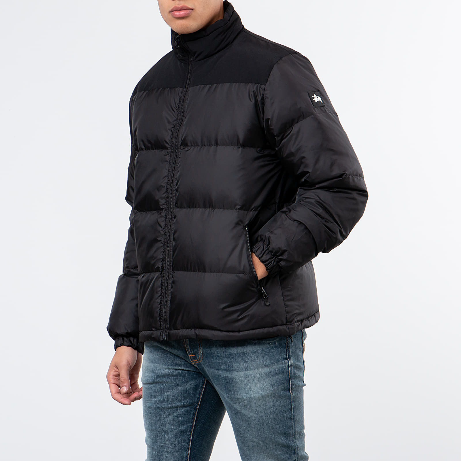 Jackets Stüssy Puffer Jacket Black