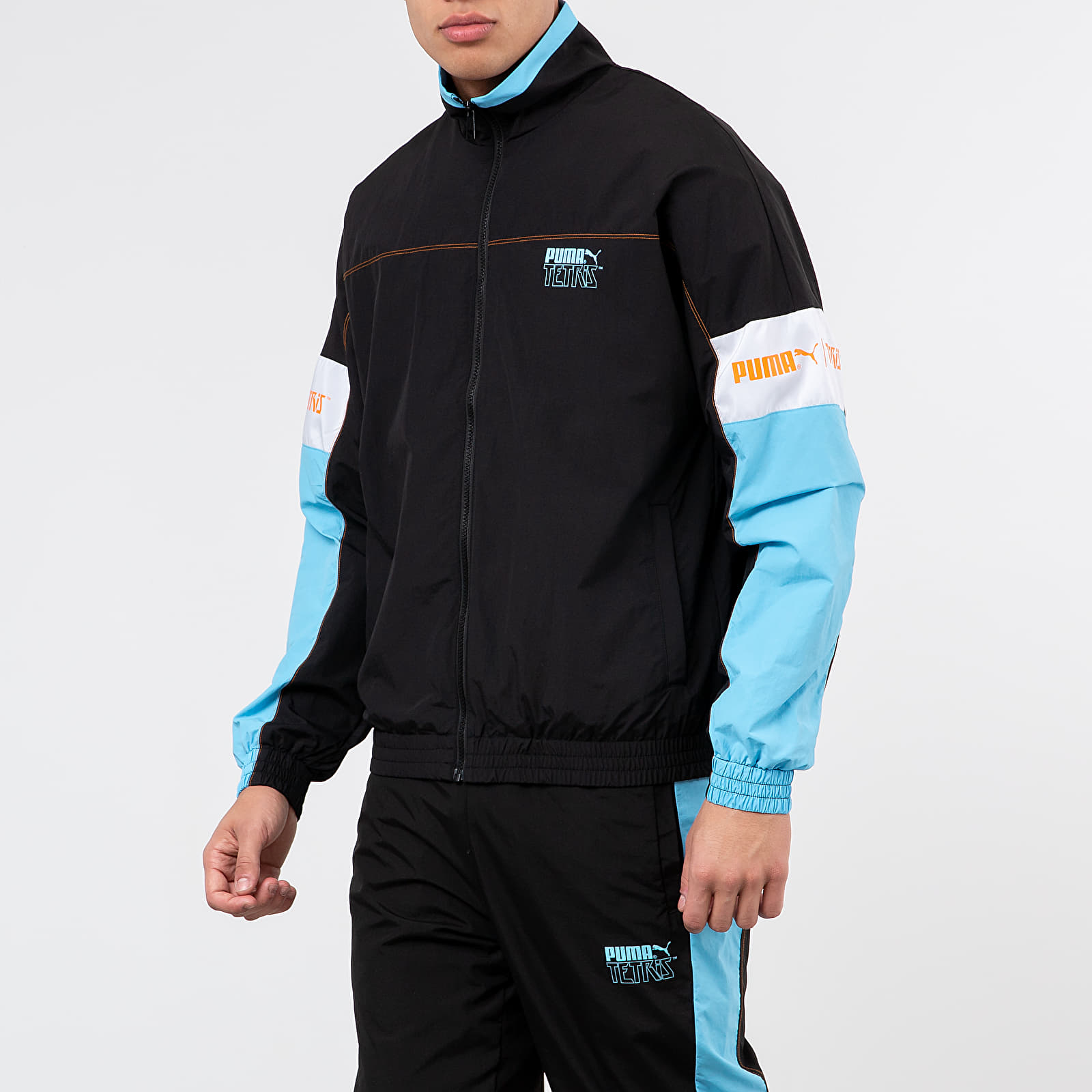 Větrovky Puma x Tetris Track Jacket Black