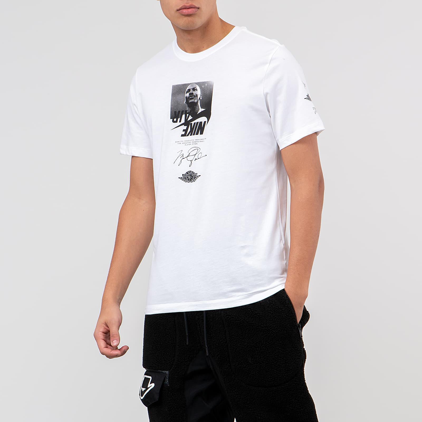 T-Shirts Jordan Ctn The Man Tee White