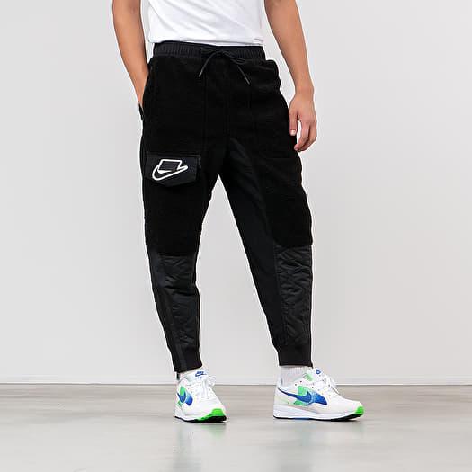 Acuoso Organizar Tentación  Pantalons Nike Sportswear NSP Jogger Mix Black/ Off Noir/ Black | Footshop