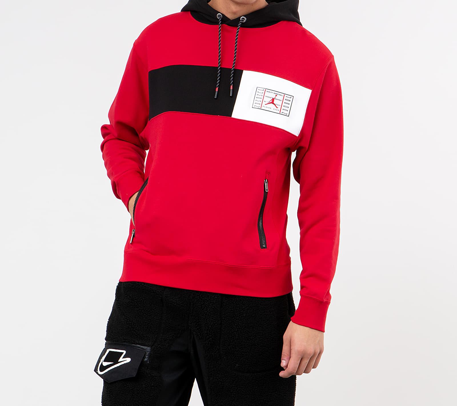 Jordan Legacy AJ11 Black Hoodie Gym Red/ Black/ Black/ White