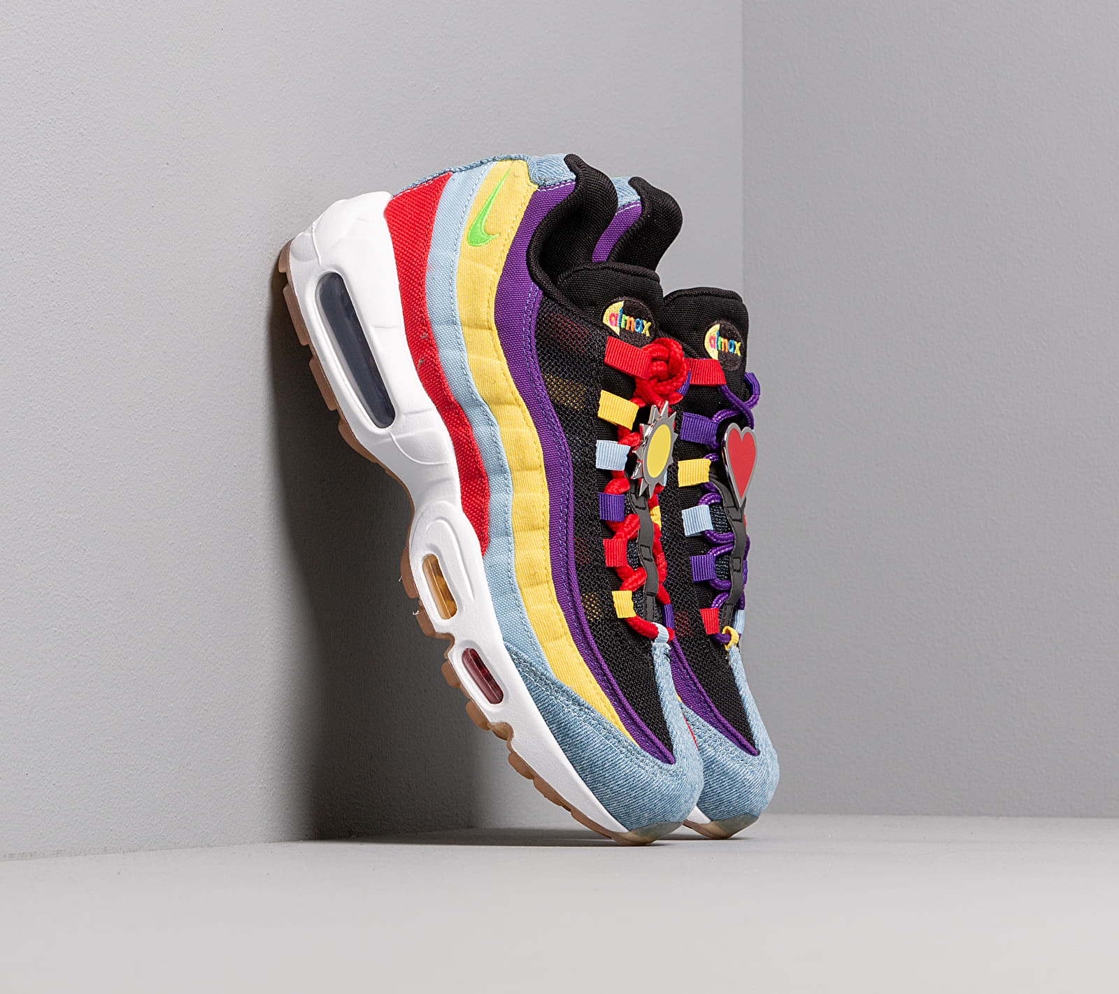 Nike Air Max 95 SP Psychic Blue/ Chrome Yellow, Multicolour