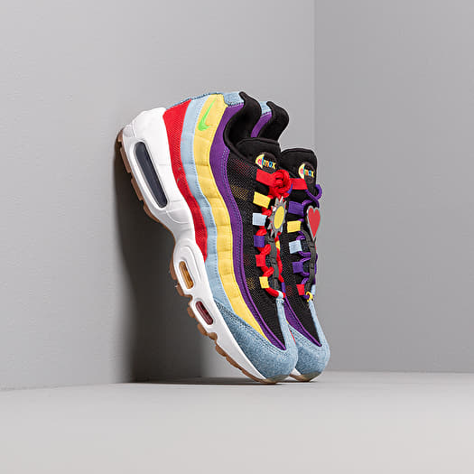 Nike Air Max 95 SP Psychic Blue Chrome Yellow