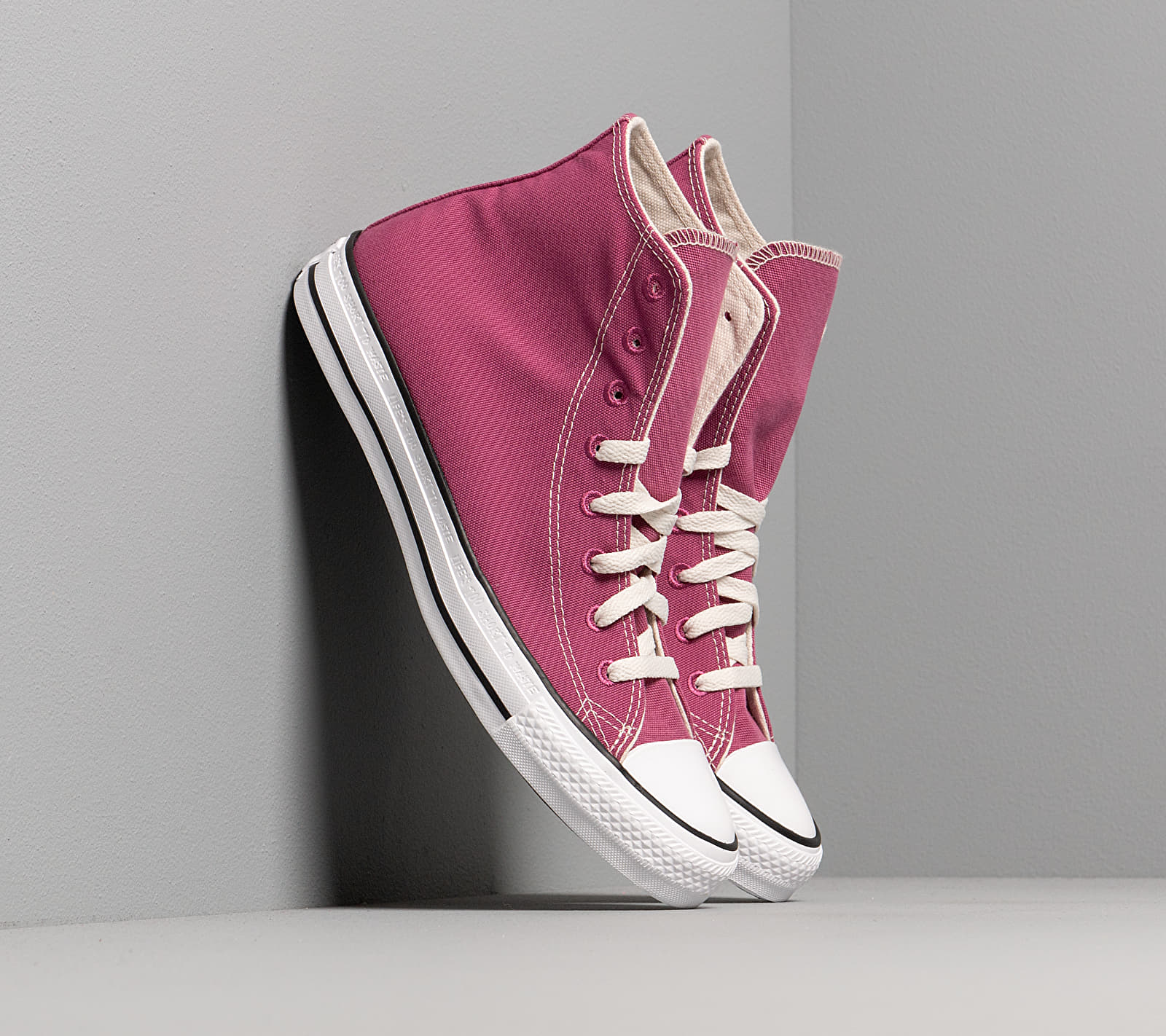 Converse Chuck Taylor All Star Hi Renew Mesa Rose/ Black/ White, Pink