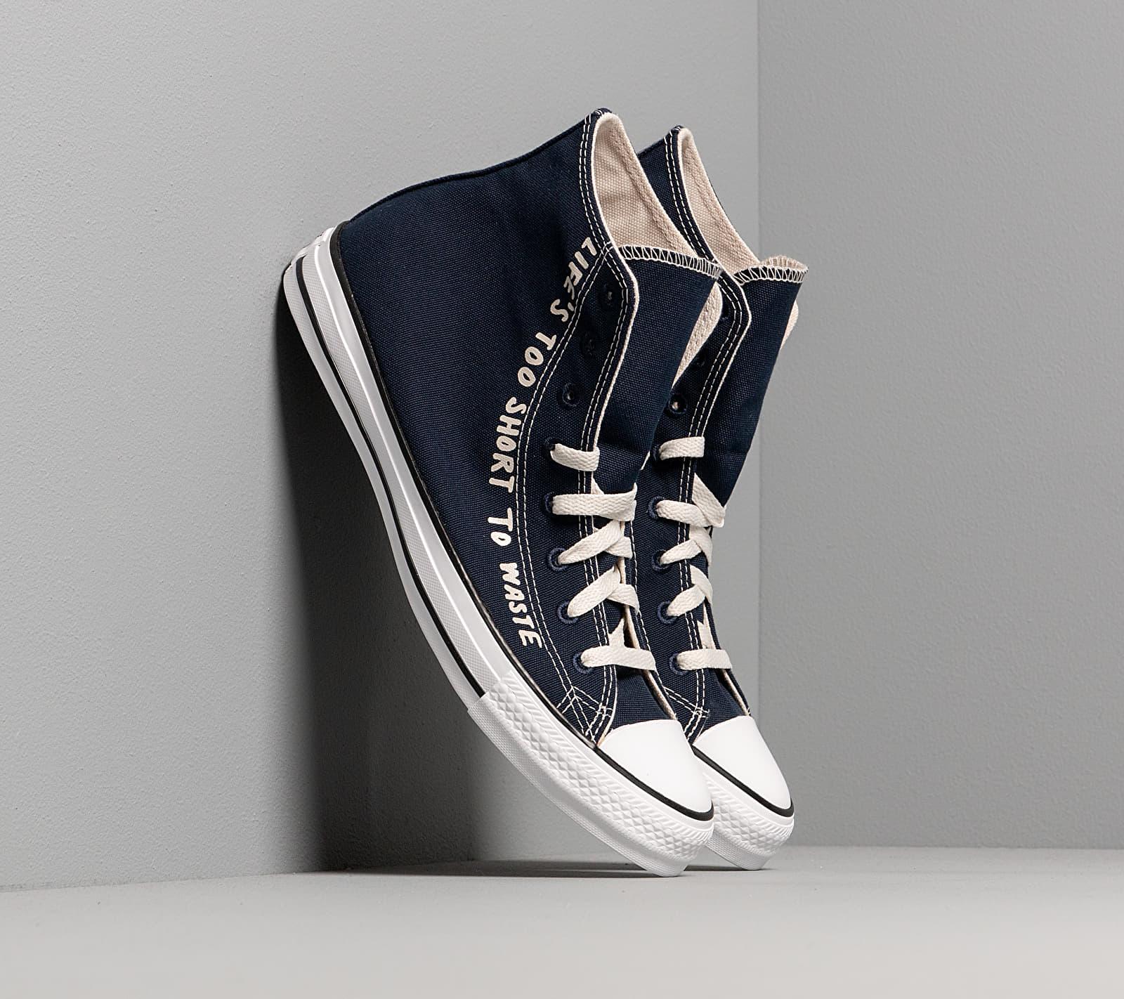 Converse Chuck Taylor All Star Hi Renew Obsidian/ Egret/ White, Blue