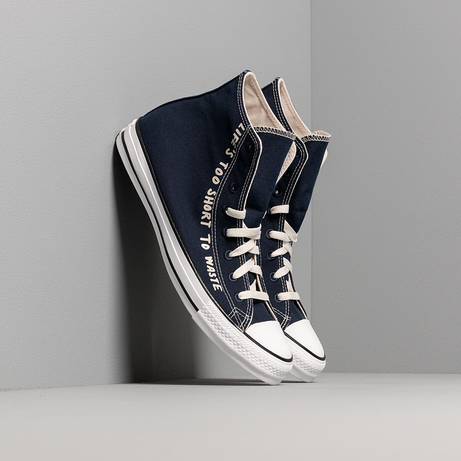 Men's shoes Converse Chuck Taylor All Star Hi Renew Obsidian/ Egret/ White