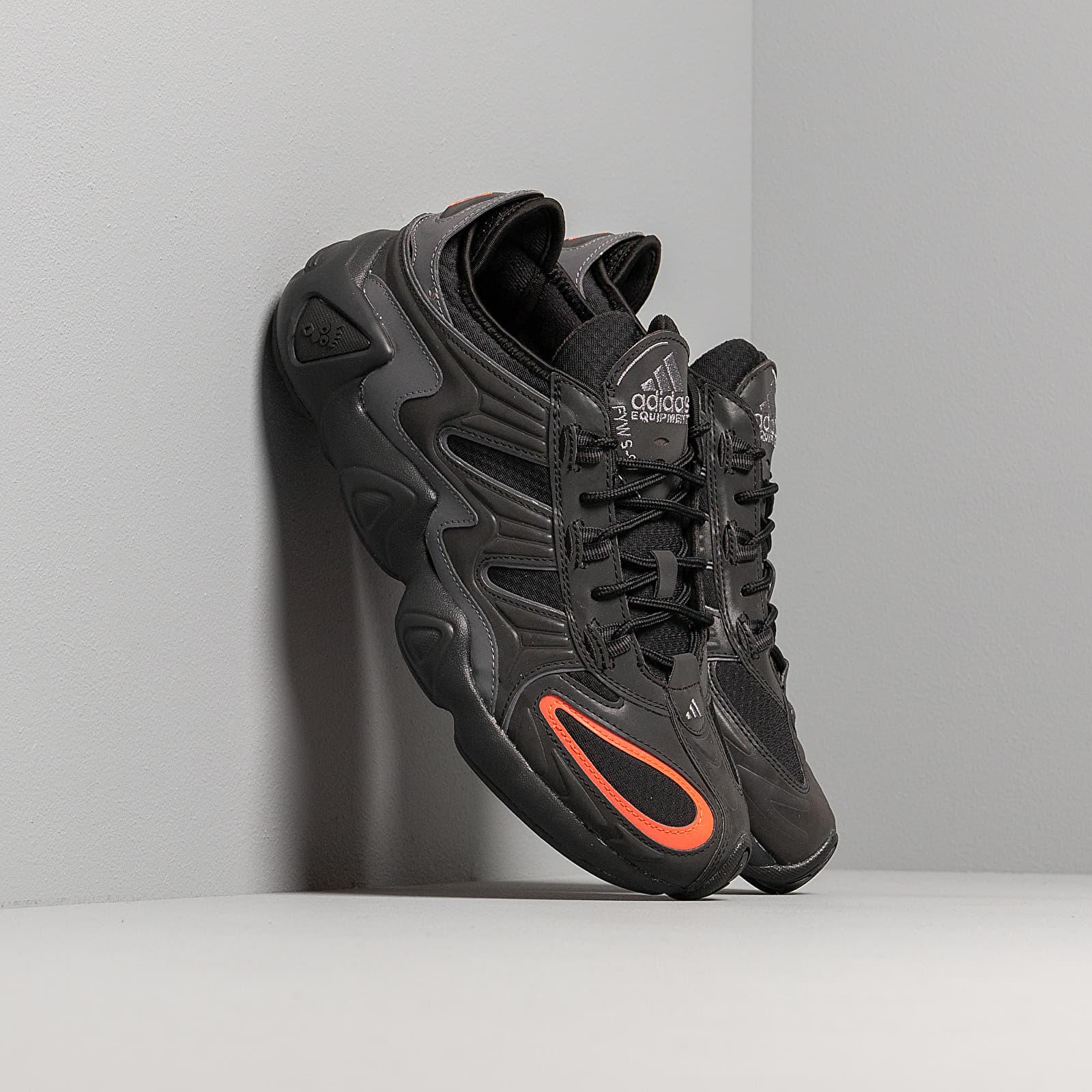 Men's shoes adidas FYW S-97 Core Black/ Core Black/ Solar Red