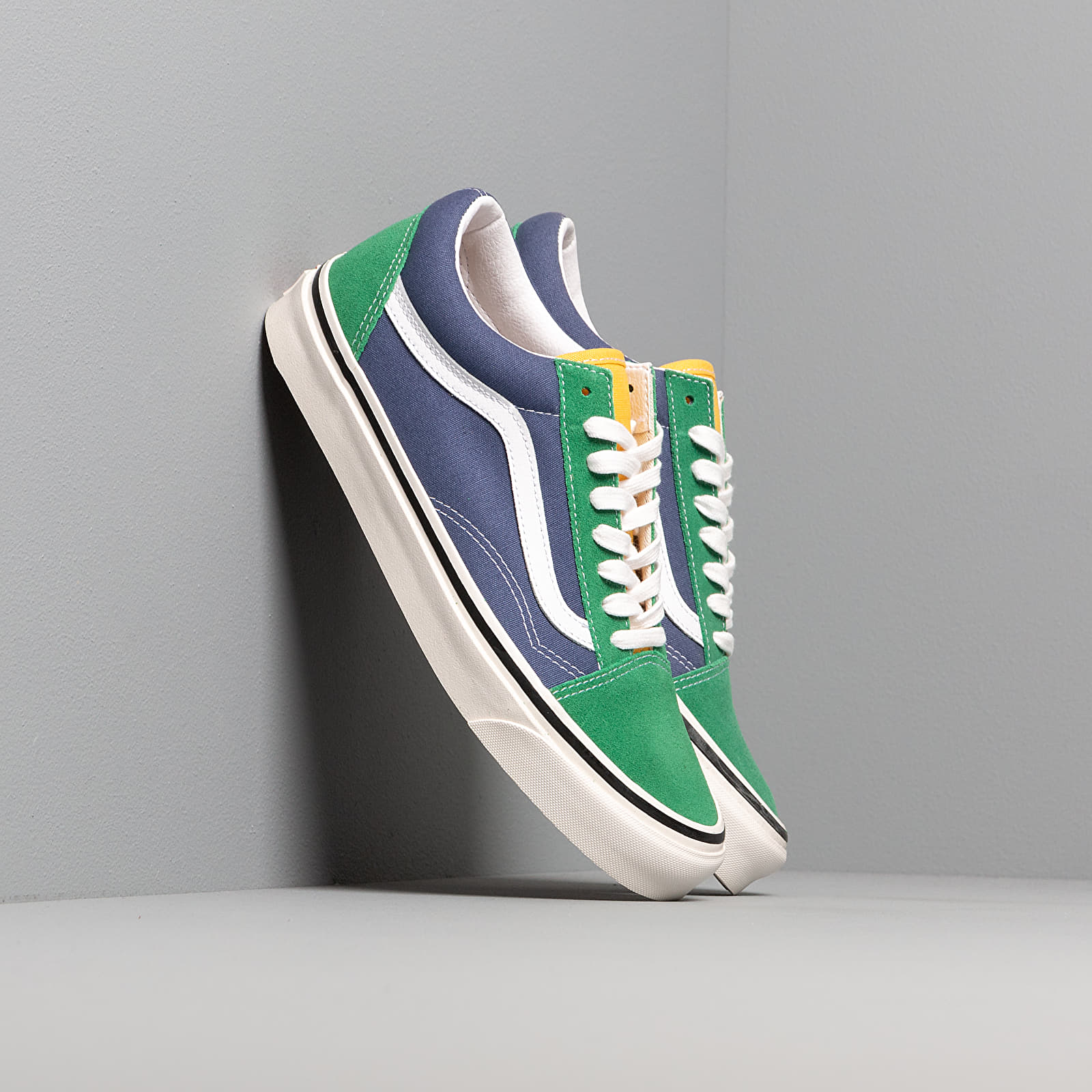 Buty męskie Vans Old Skool 36 Dx (Anaheim Factory) Green/ Denim