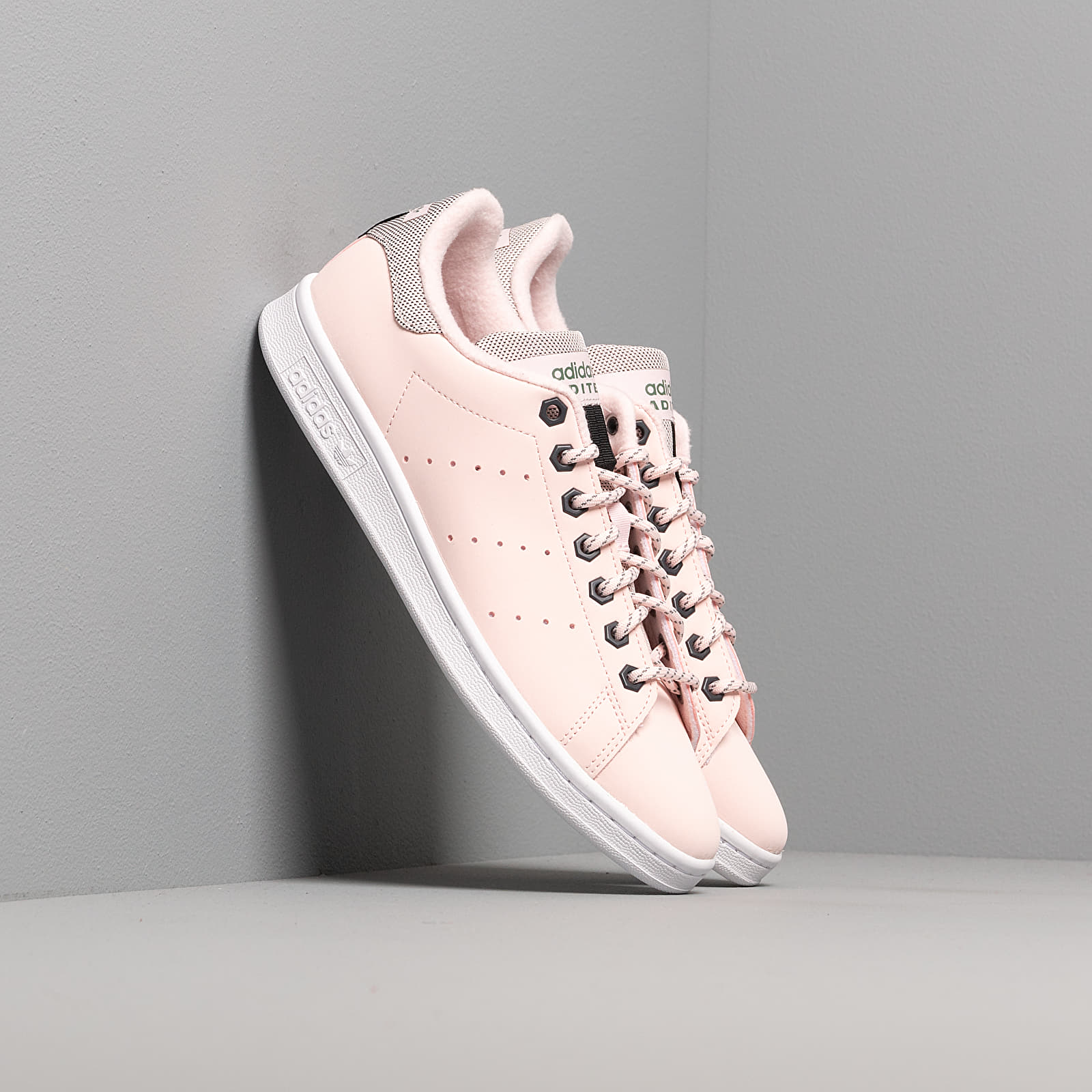 Women's shoes adidas Stan Smith W Half Pink/ Half Pink/ Trace Green