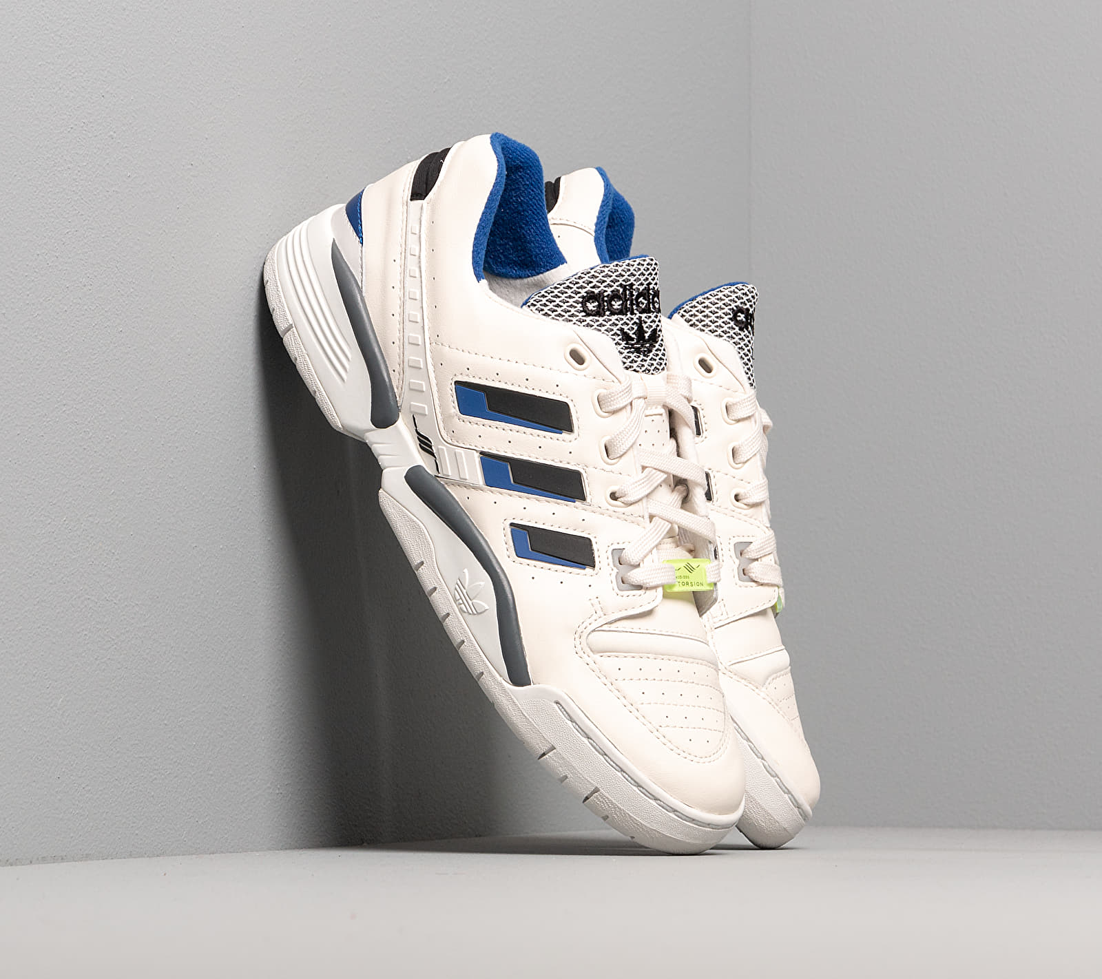 adidas Torsion Comp Crystal White/ Core Royal/ Core Black