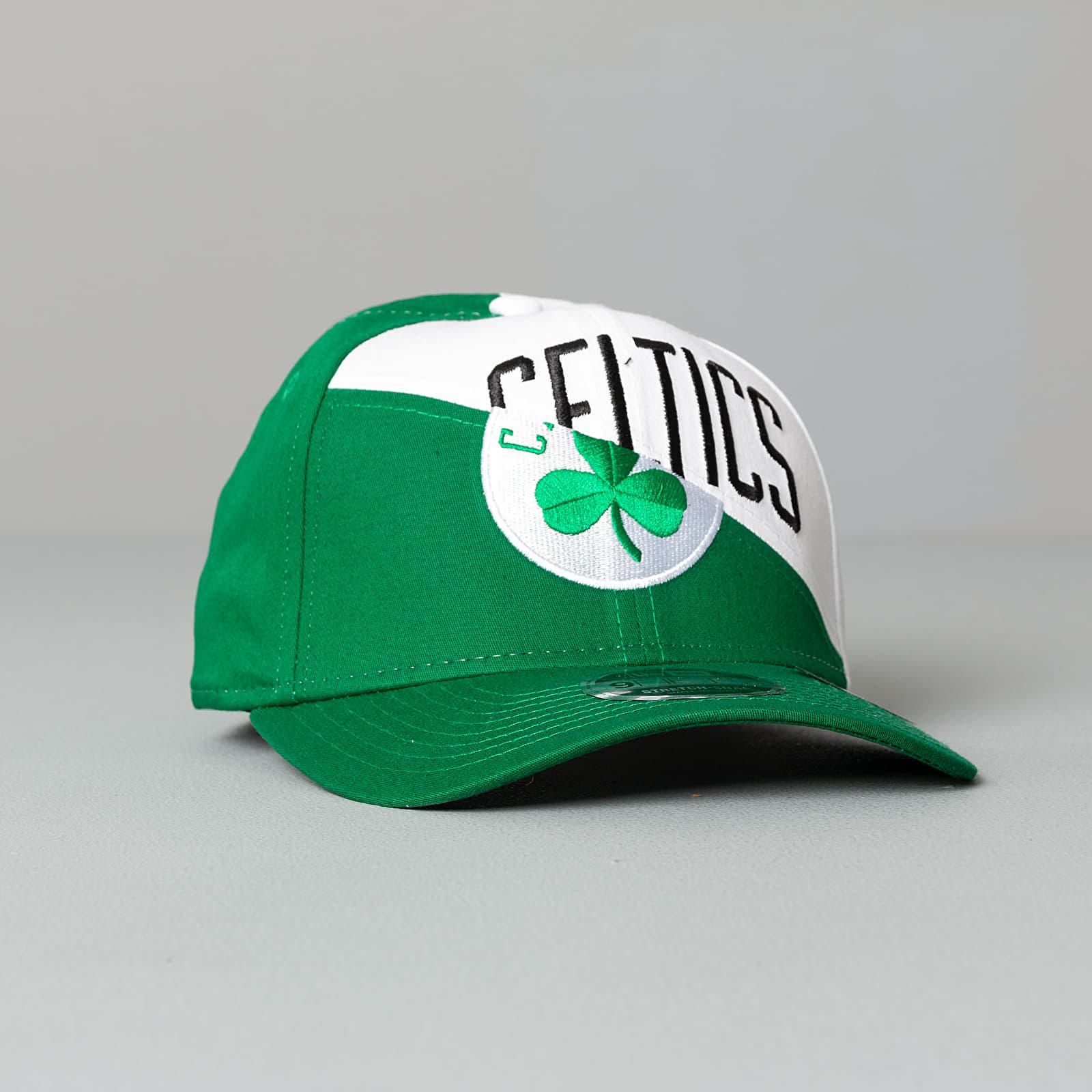 Kšiltovky New Era 9Fifty NBA Team Split Stretch Celtics Cap