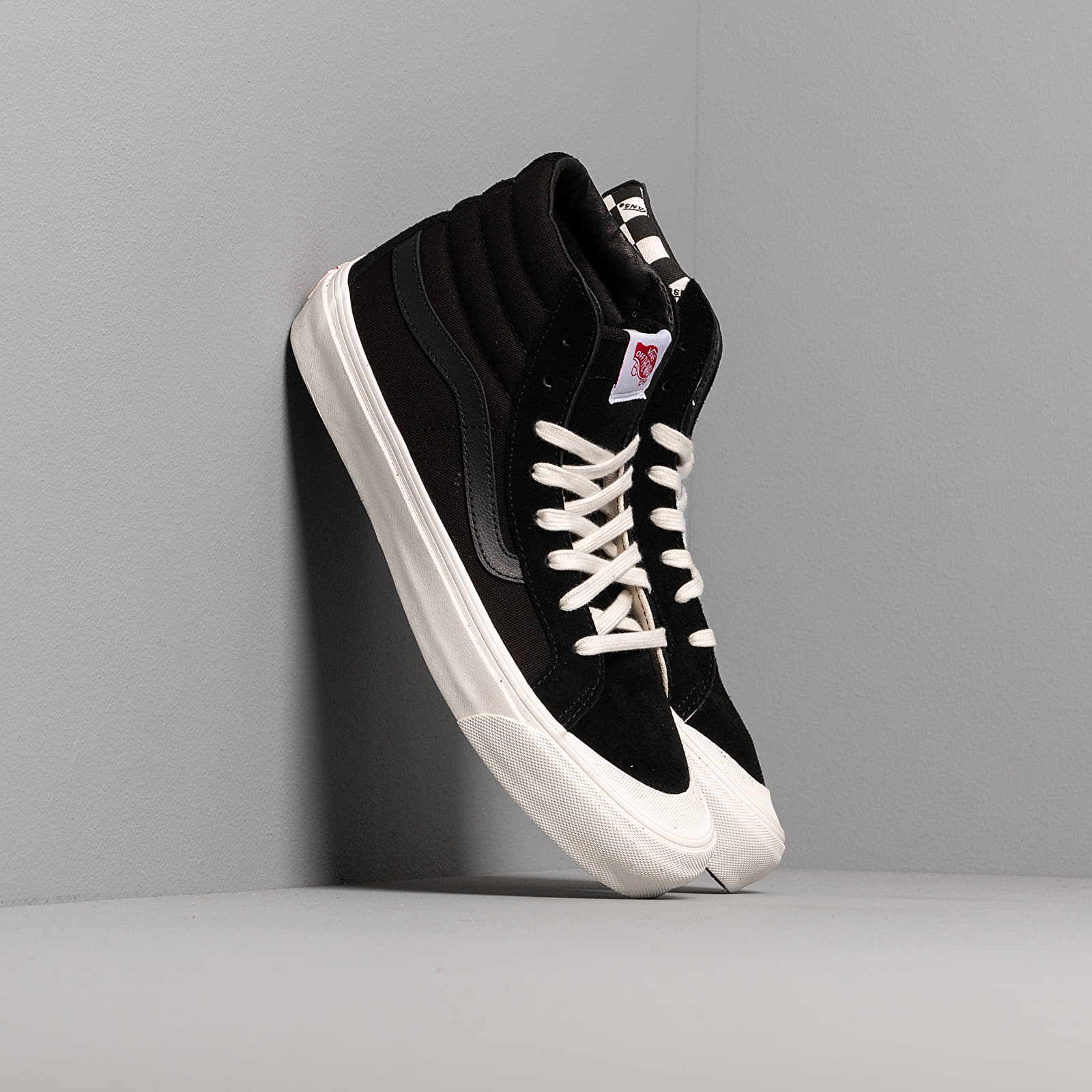 Herenschoenen Vans OG Style 138 LX (Suede/ Canvas) Black/ Checkerboard