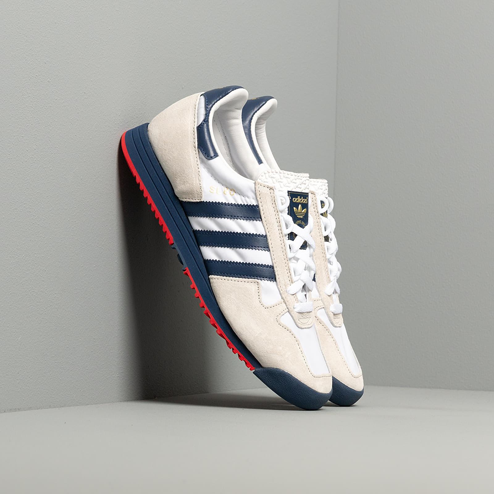 adidas SL 80 Ftw White Tech Indigo Orb Grey | Footshop