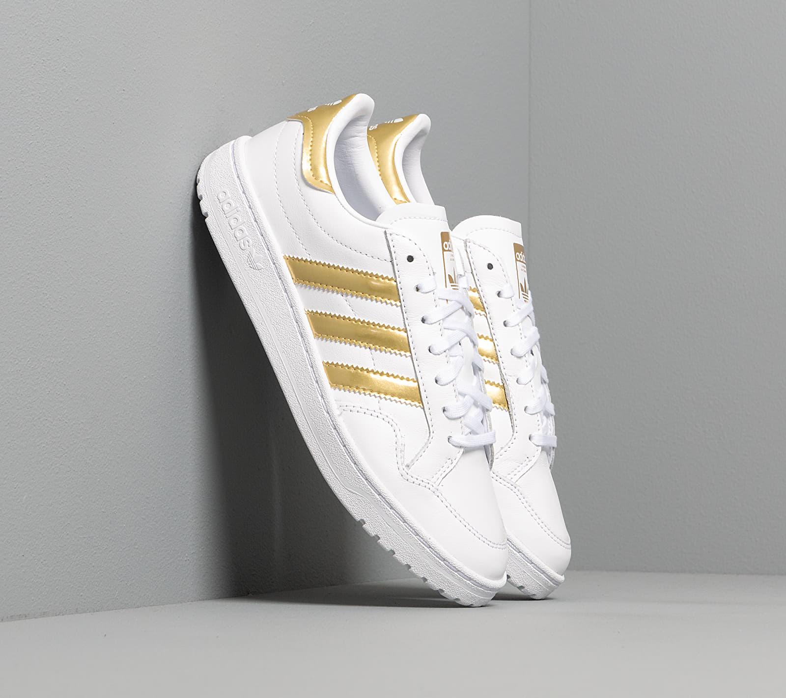 adidas Team Court W Ftw White/ Gold Metalic/ Ftw White EUR 38 2/3