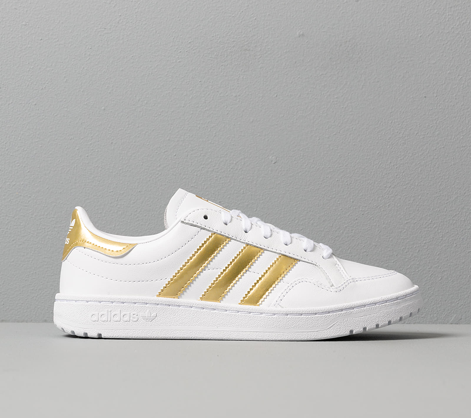 adidas Team Court W Ftw White/ Gold Metalic/ Ftw White