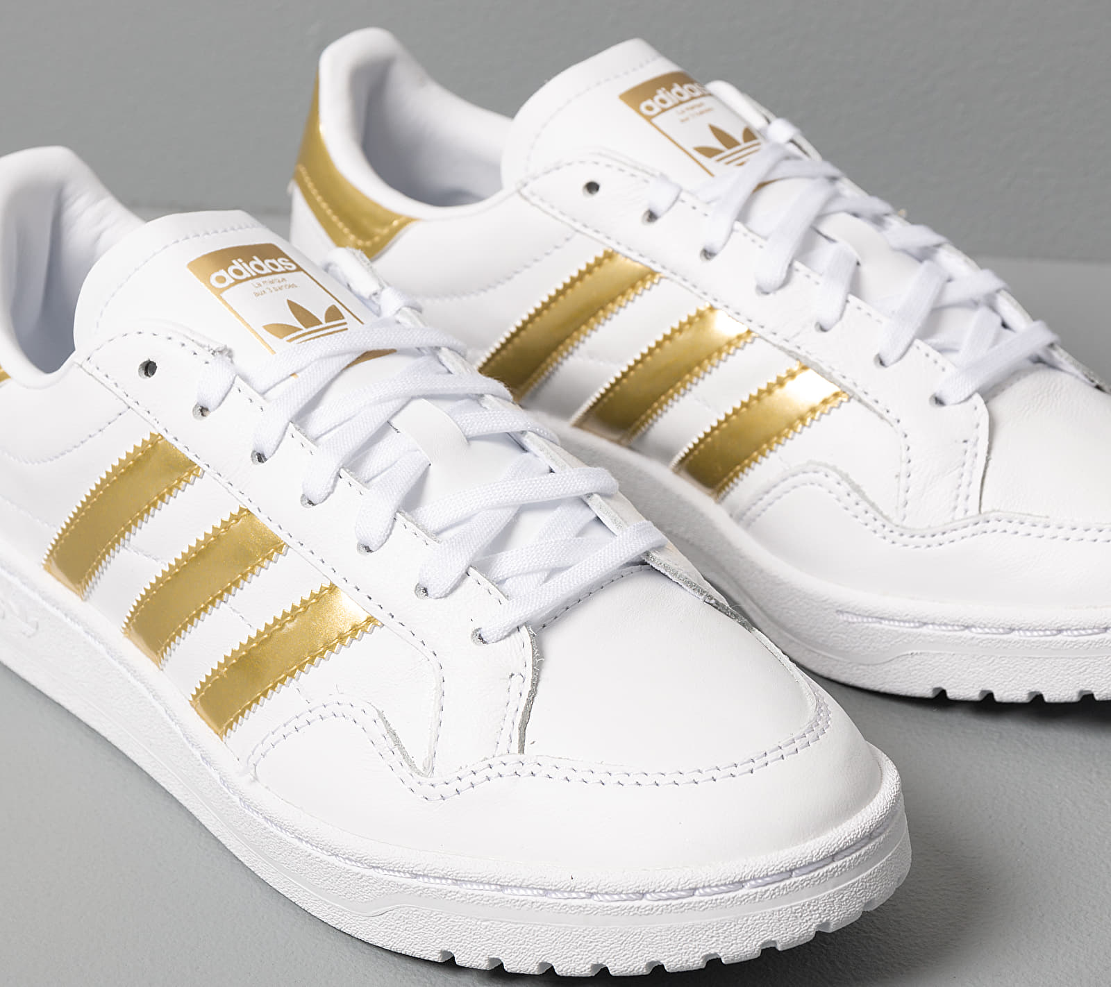 adidas Team Court W Ftw White/ Gold Metalic/ Ftw White EUR 40 2/3