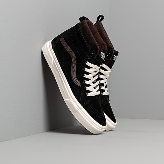 chaussures et baskets homme vans sk8 hi mte black chocolate torte footshop