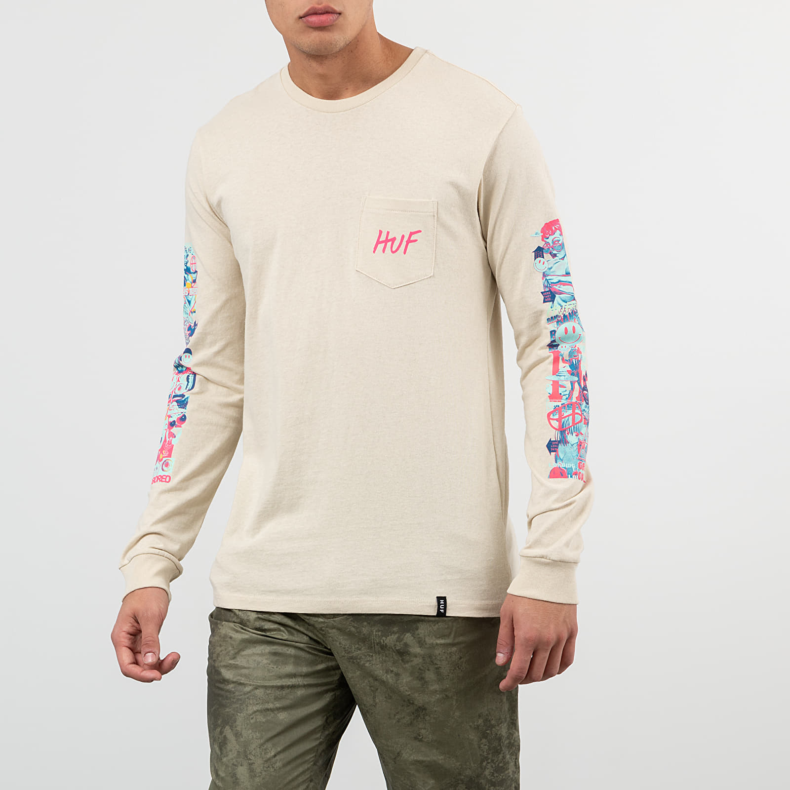 HUF Short Term Pocket Long Sleeve Tee