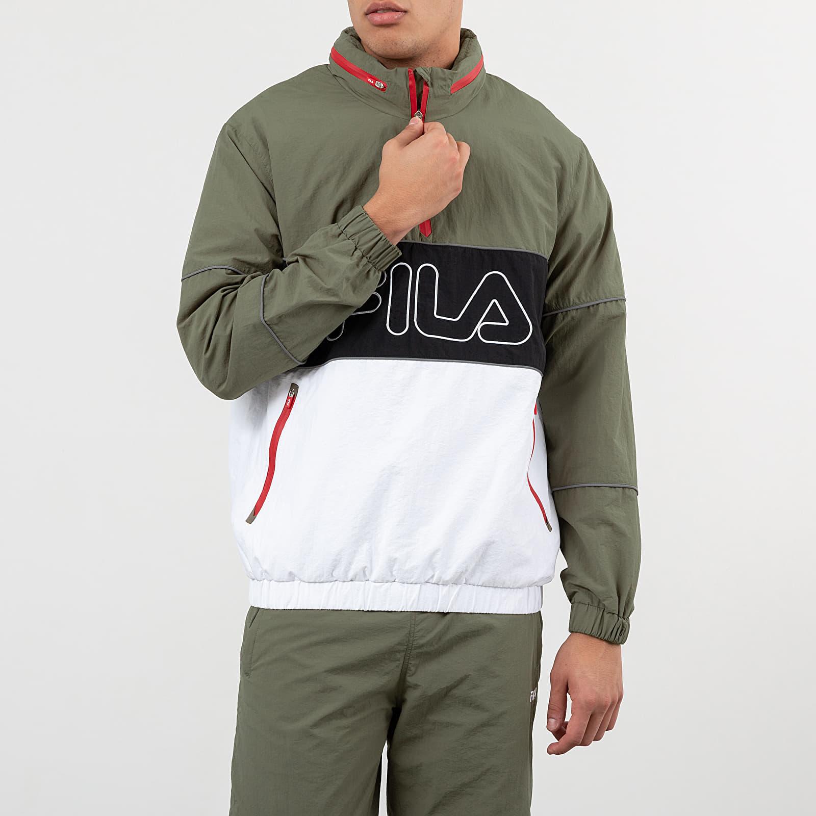 Coach Jackets FILA Windbreaker Jacket Green