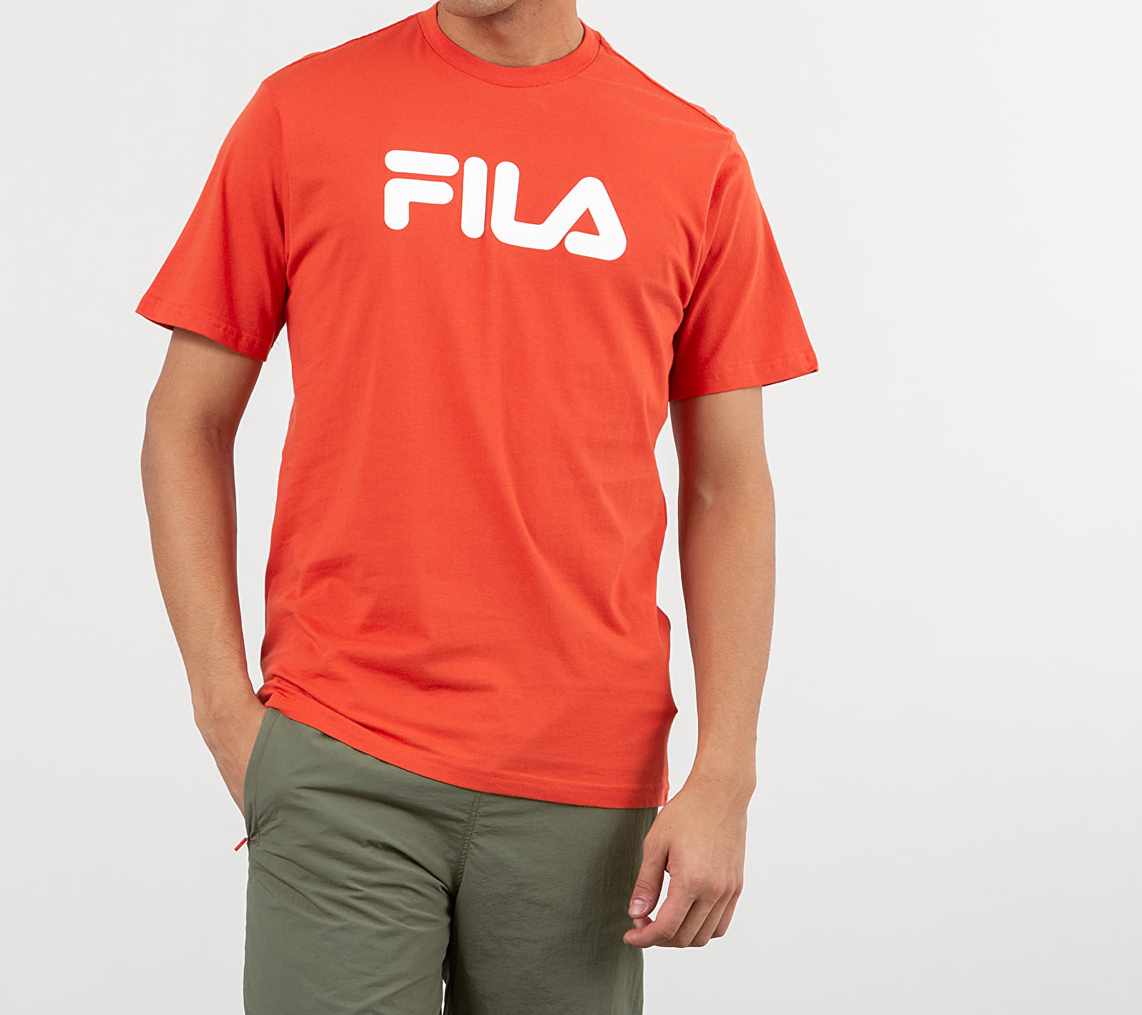 FILA Classic Pure Tee Summer Fig, Red
