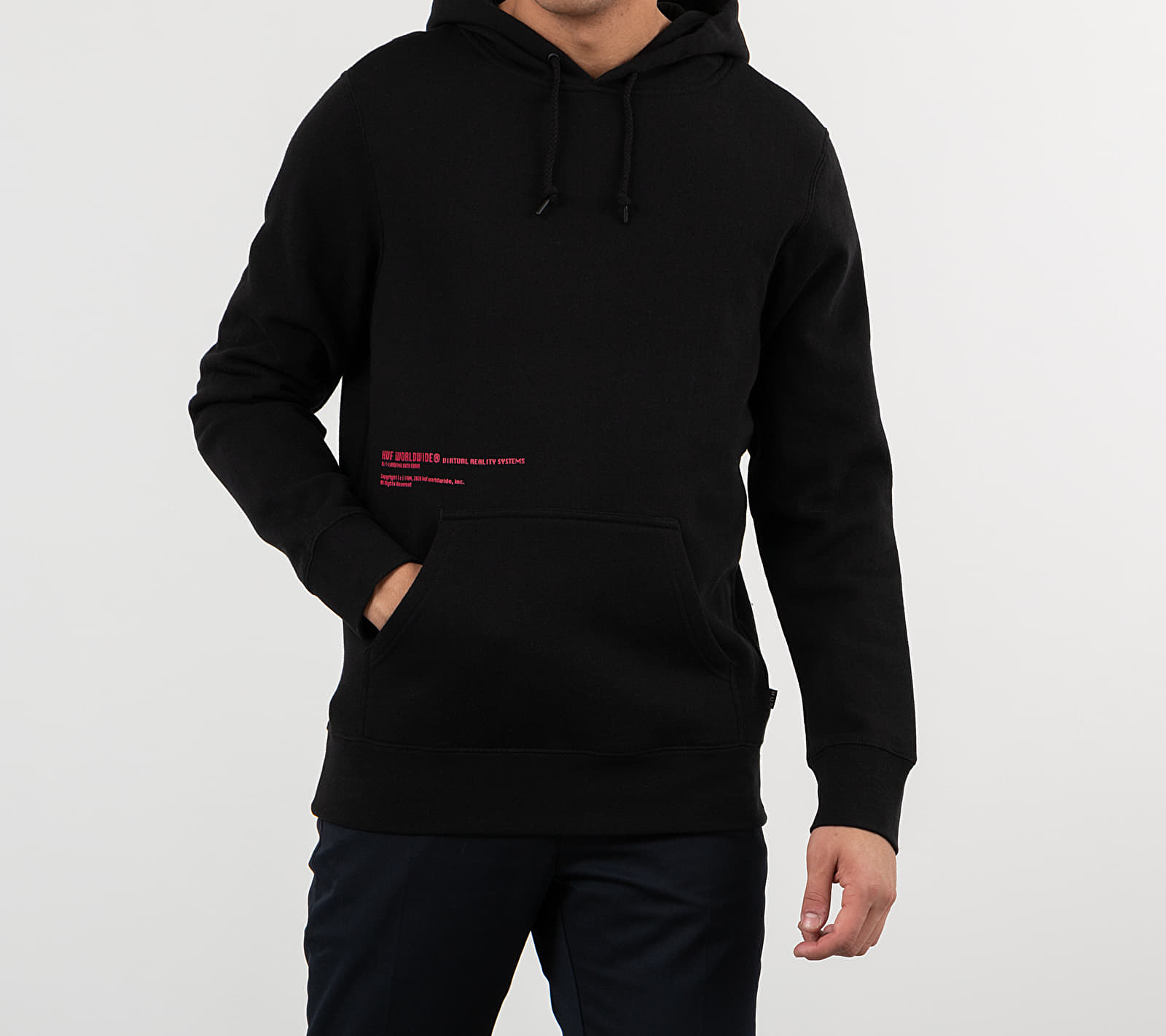 HUF Virtual Reality Hoodie Black