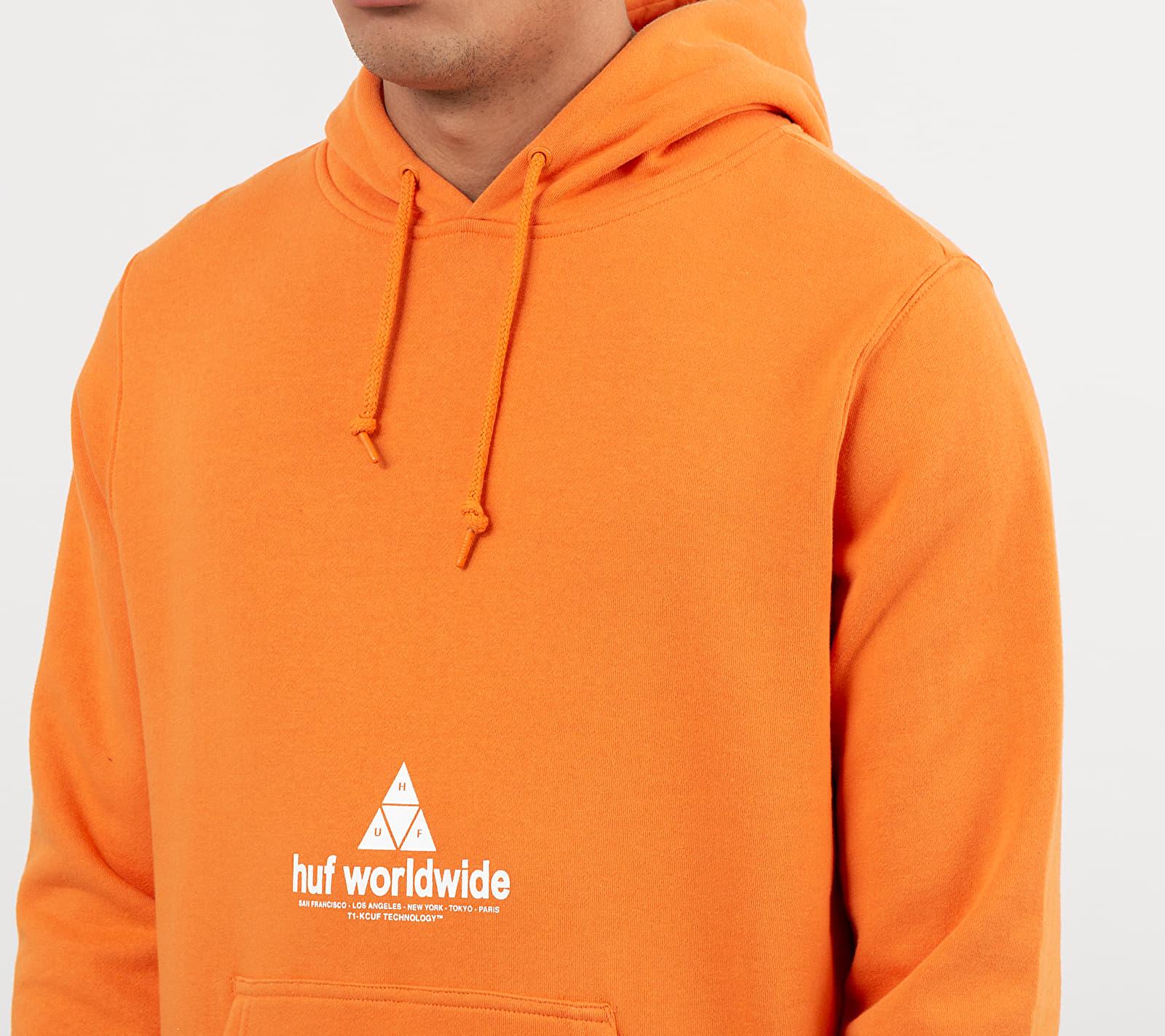 HUF Peak 3.0 Hoodie Russet Orange
