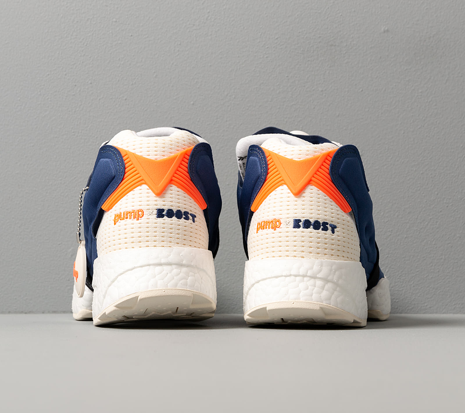 Reebok Instapump Fury BOOST Classic White/ Club Blue/ Solar Orange