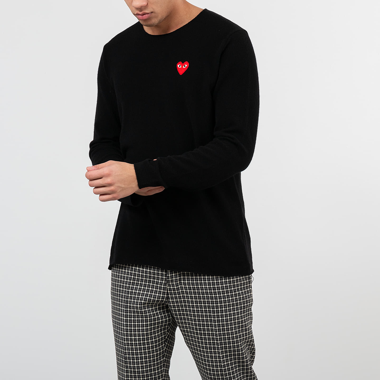 Hanorace și bluze Comme des Garçons PLAY Knit Black