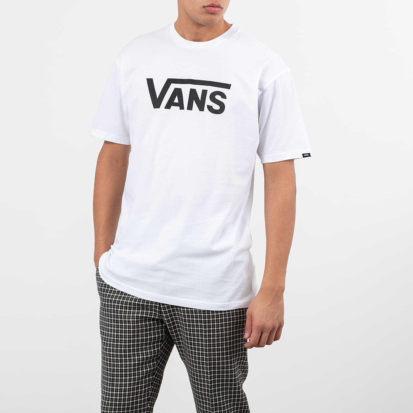T-Shirts and shirts Vans Classic Tee White/ Black