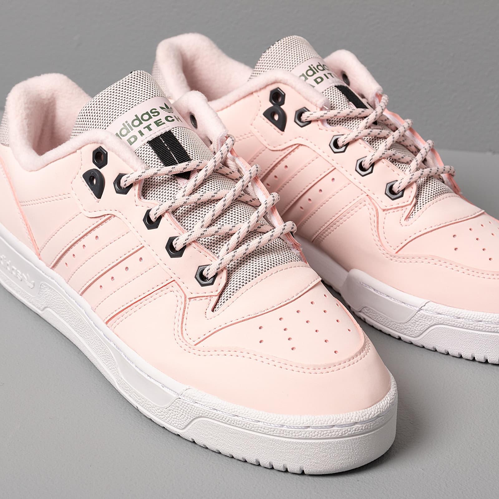 adidas Rivalry Low W Half Pink Half Pink Trace Green | Footshop